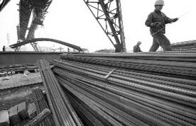 山东济南钢材市场节后反弹遇阻